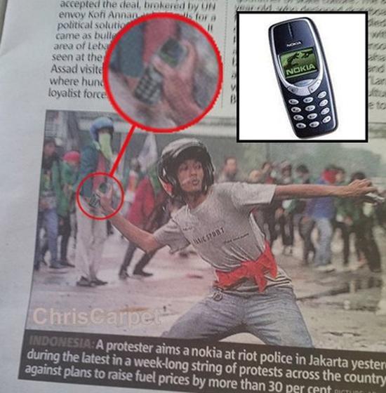 Nokia-riot